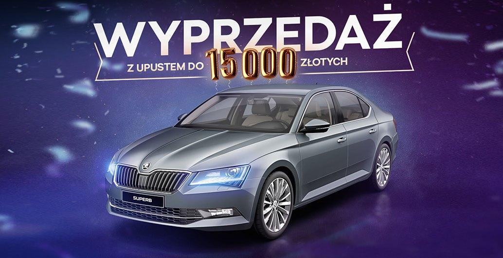 WYPRZEDAŻ z upustem do 15 000 zł!