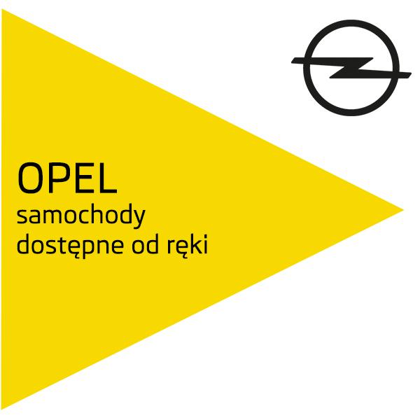 Samochody Opel dostępne od ręki
